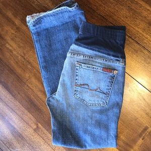 Maternity jeans / for all mankind